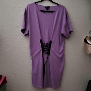 Plus+ Purple Dress